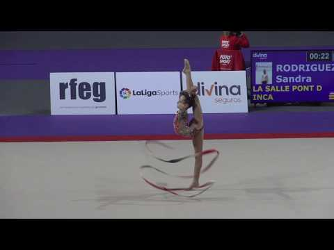 Sandra Rodriguez, Campeona Copa Base Infantil, La Salle Pont D'Inca (BAL) Pamplona 2019