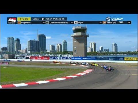 2018 Firestone Grand Prix of St. Petersburg - Last 5 laps