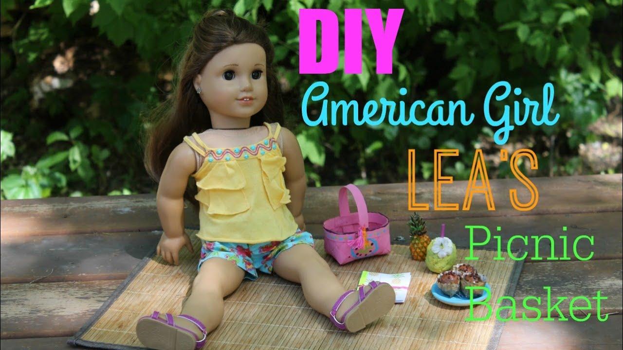 American Girl Lea Clark 8i Lea/'s Beach Picnic Set For American Girl Dolls.