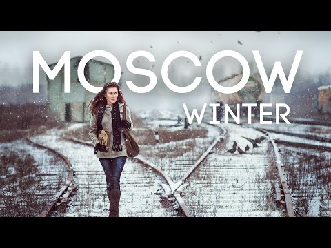 Moscow in Winter Season Ultimate Travel 4K BlueMoon Universe