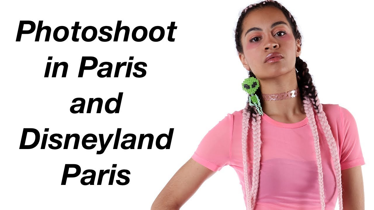Photoshoot in Paris and Disneyland Paris | Vlog