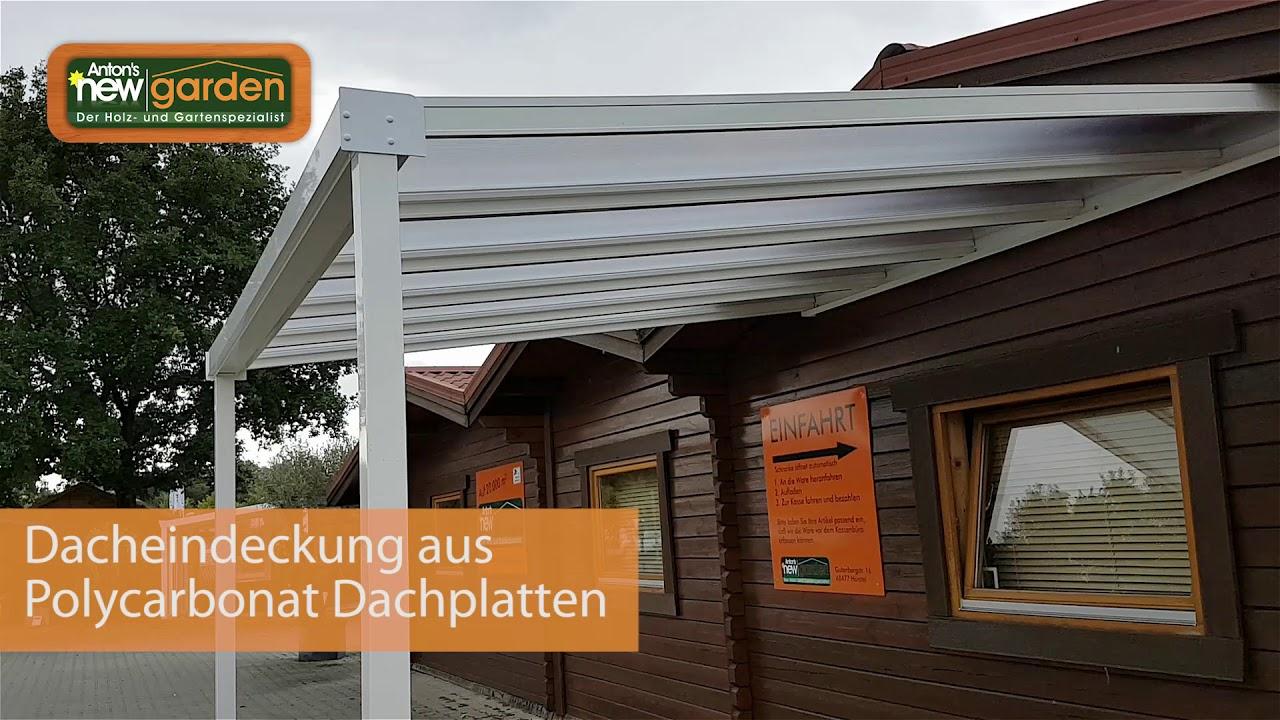 Das Update Fur Ihre Terrasse Terrassendach Bausatz Weiss Oder