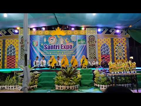 Festival Hadroh Santri Expo 2019 Pringsewu PEPSI SMK Yasmida Ambarawa