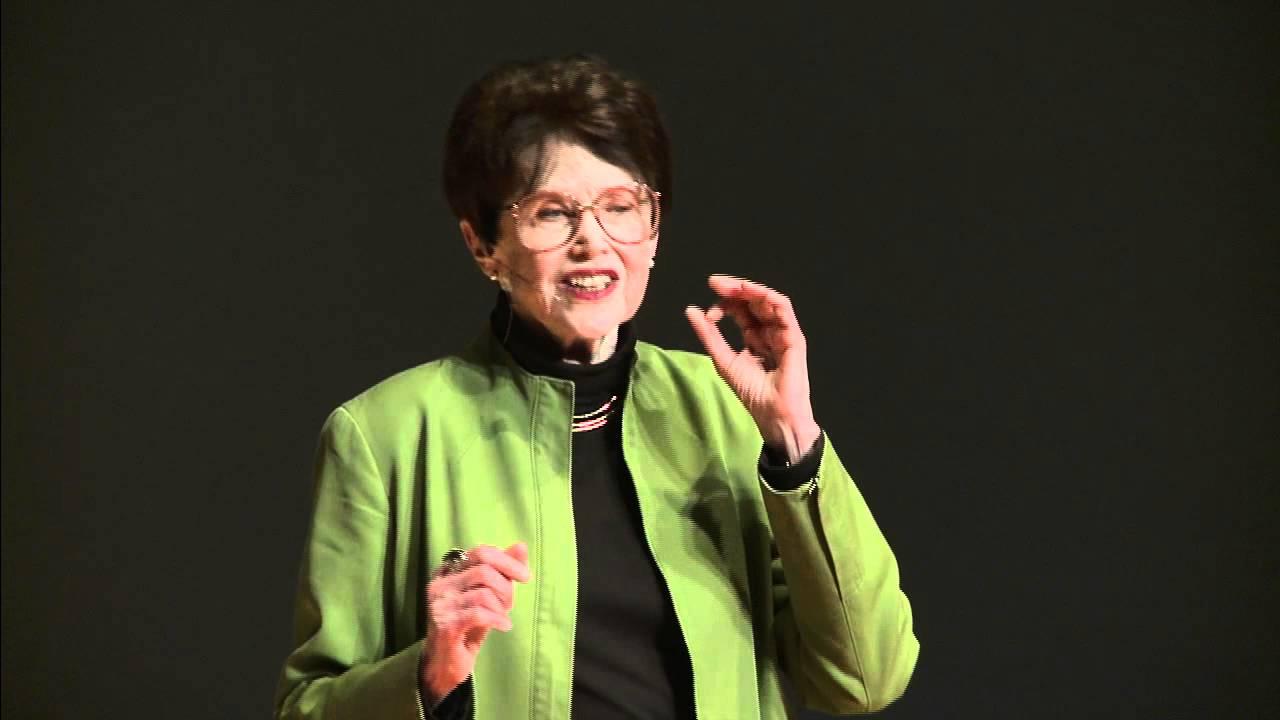 Building A Caring Economy - TEDxSantaCruz with Riane Eisler