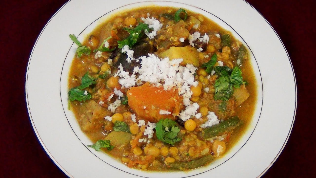 Ghanta special mix veg curry recipe video youtube forumfinder Image collections