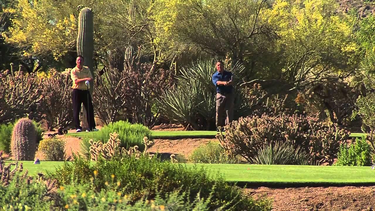 Desert Golf at the Boulders - YouTube