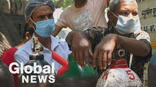 Download India's oxygen crisis during COVID-19 pandemic raises concerns for developing nations