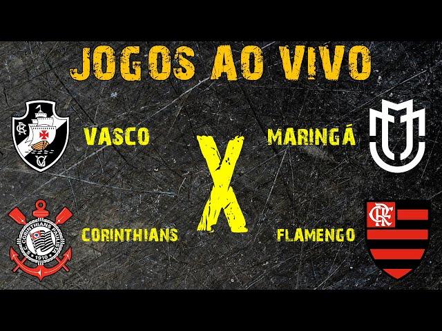 AO VIVO: VASCO x MARINGÁ E CORINTHIANS X FLAMENGO - LIGA FUT7