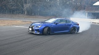 LEXUS RC F і LEXUS IS F Drift!!