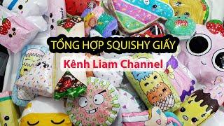 Tổng hợp Squishy Giấy kênh Liam Channel Tháng 8.2020