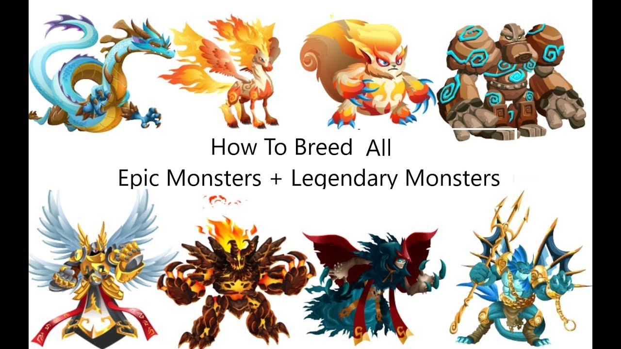 How To Breed Epic Legendary Monsters In Monster Legends Monster Legends Breed Legendary Youtube
