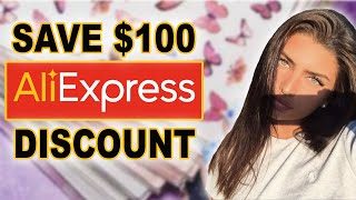 $100 AliExpress Coupon Code. How I Got A Free $100 Discount At AliExpress! In 2020 😍
