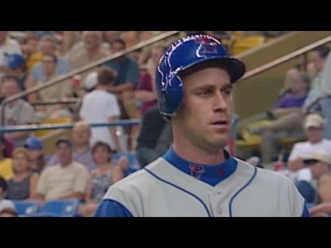 Mark Hendrickson's first home run