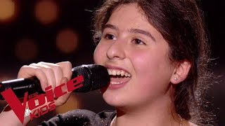 Etta James - Something's got a hold on me | Ermonia | The Voice Kids France 2018 | Blind...