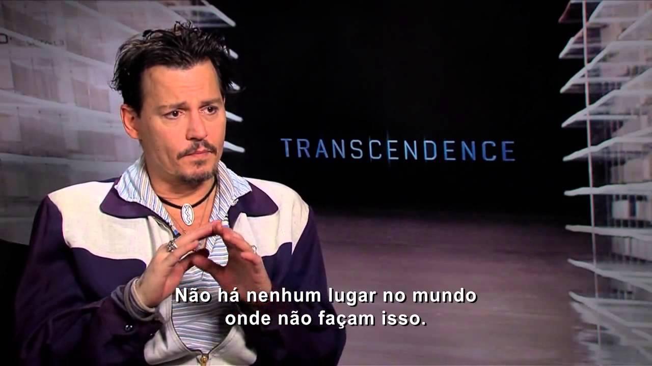 johnny depp TRANSCENDENCE interview - YouTube