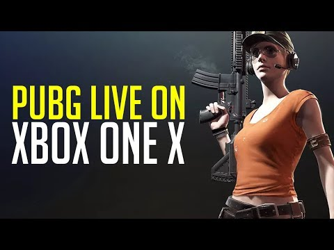 PUBG LIVE on Xbox One X (Playerunknown's Battlegrounds)