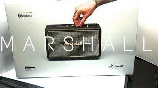 Marshall Acton Bluetooth Speaker Unboxing & Testing