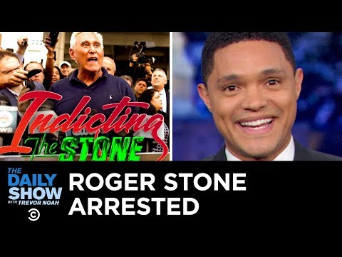 Roger Stone Arrested and Conservatives Cry Police Overreach | The Daily Show
