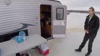 США, Америка. Обзор. Передвижной домик для зимней рыбалки.(, 2016-01-31T06:41:07.000Z)