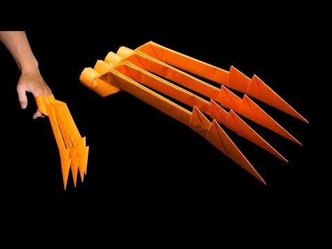 Easy #origami wolverine #claw