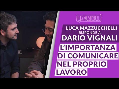 Dario Vignali e Luca Mazzucchelli: l'importanza della comunicazione nel proprio lavoro