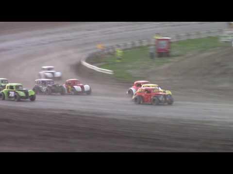 Dacotah Speedway INEX Legends A-Main (7/8/16)