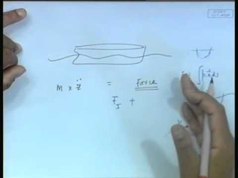 Mod-01 Lec-04 Single Degree of Freedom Motions in Regular Waves