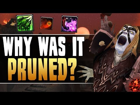WoW | Warlock Class Design - Looking back at ABILITY PRUNING [Cobrak]