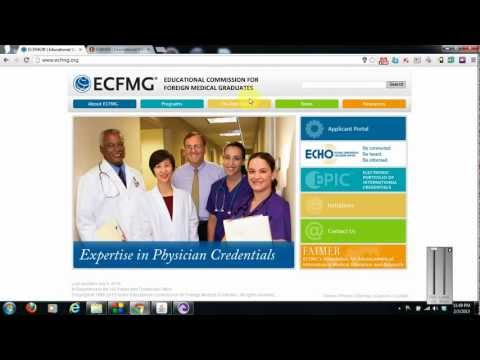 Get an ECFMG/USMLE ID & Password and Begin your Step 1/2CK/2CS Application - USMLE to Residency