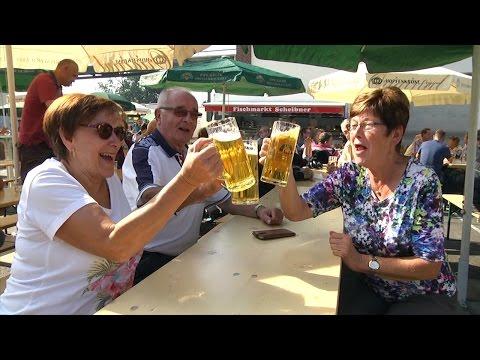 Mauritius-Brauerei feiert Hof-und Herbstfest
