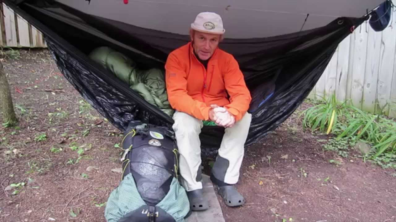 hammock camping     what to do with your backpack and boots   youtube  rh   youtube