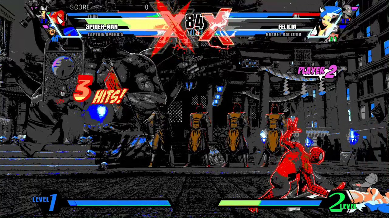 Ultimate Marvel vs Capcom 3 PC ReShade CLASSIC MUGEN STYLE