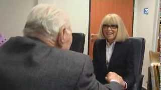 Professeur Christian CABROL avec Mireille Darc / Sophie Crimon France 3