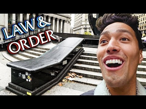 MOST FAMOUS SKATE SPOT IN NYC!!!