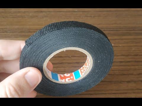 Антискрип для авто или лента из ткани термостойкая для обмотки проводов  Купил на алиэкспресс