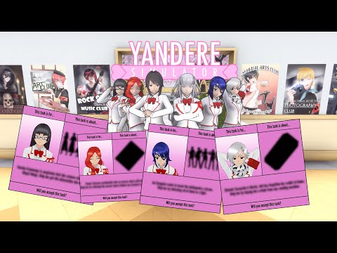 Yandere Simulator Concepts: Joining the Student Council
