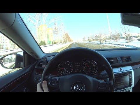 2009 Volkswagen Passat СС 1.8TSI DSG POV Test Drive