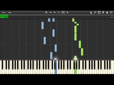 Kansas - Carry on Wayward Son - Piano tutorial (Synthesia)