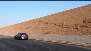 MASSIVE AGENDA 21 WALLS ARE BEING ERECTED BECAUSE OF TOLL LANE PROJECTS.