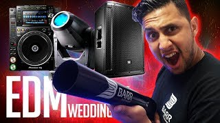 DJ GIG LOG: Wedding turns into an EDM Festival | My best GIG LOG, EVER!