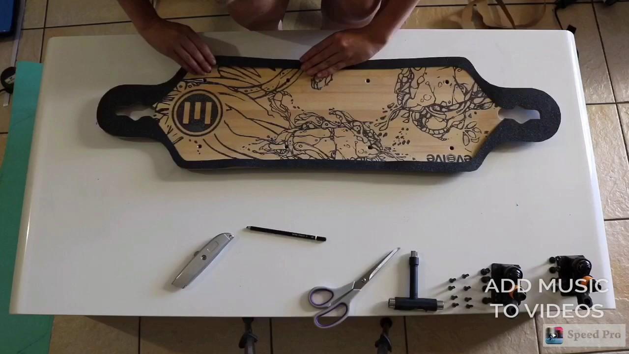 customising my evolve bamboo gt regrip griptape art and. Black Bedroom Furniture Sets. Home Design Ideas