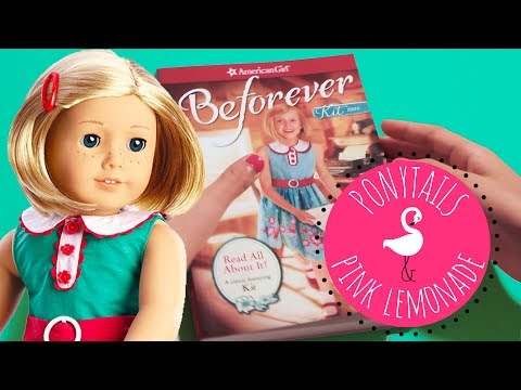 American Girl Beforever Kit Read All About It Book