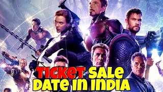 Avengers Endgame RunTime And Tickets Available Date In India