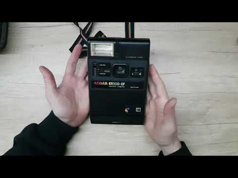 Kodak EK 160-EF Instant Camera REVIEW