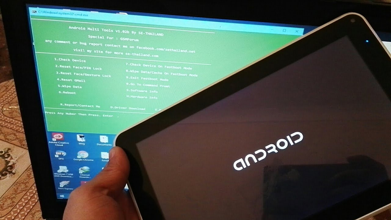 How to Hard Reset ALL China Tablet by Utility Software Very Easily