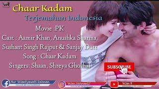 Chaar Kadam - Lirik Dan Terjemahan Indonesia