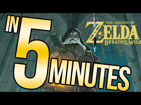 The Legend of Zelda: Breath of the Wild in 5 Minutes | Austin John Plays