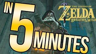The Legend of Zelda: Breath of the Wild in 5 Minutes | Austin John Plays