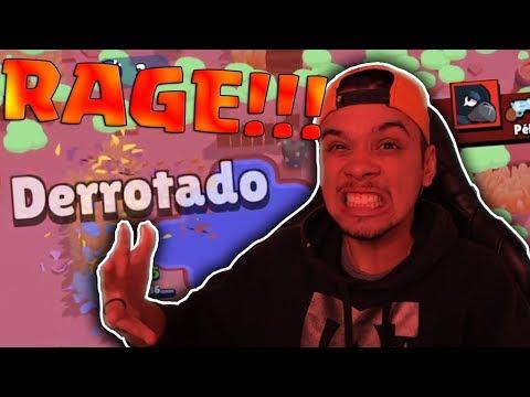 RAGE!!! FUI NO COMBATE COM MEU PIOR BRAWLER! - BRAWL STARS!