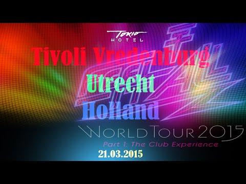 Tokio Hotel - Tivoli Vredenburg - Utrecht - FIA tour - full show   21.03.2015  HD